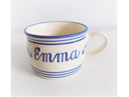 Keramický hrnek s nápisem - Emma