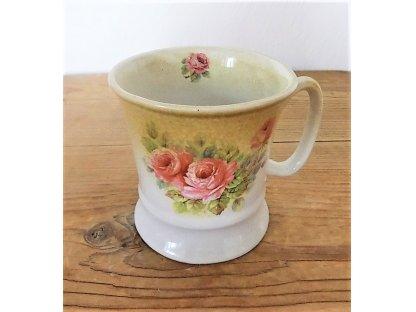 Keramický hrnek s růžemi 0,25 l