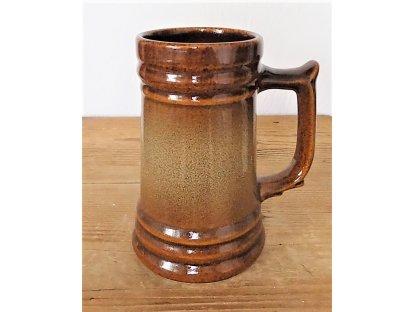 Keramický korbel MIX, 0,5 l objem půl litru