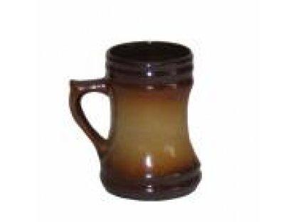 Keramický korbel na pivo o objemu 0,75 l