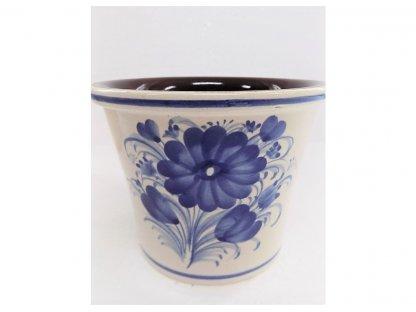 Keramický obal na květináč  v. 10 cm - 1.