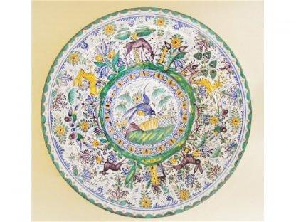 Keramický talíř, Zahrada Moravy