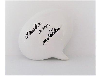 Magnetická bublina - keramika