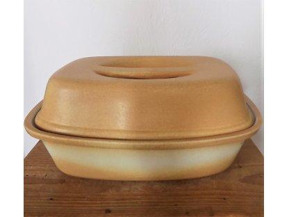 Nádoba na pečení-  Kulinářský hrnec Sahara, keramika, kamenina