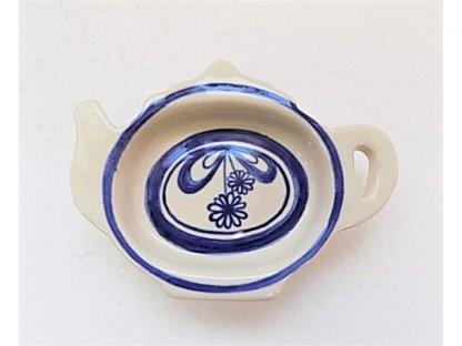 Odkapávač na čaj - konvička mašle z kytek