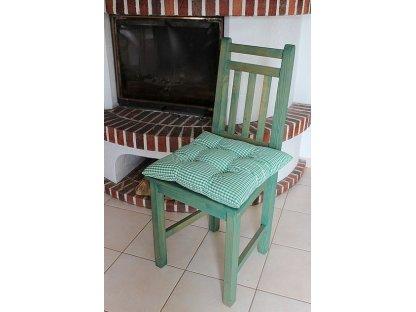 Podsedák na židli Aleš K 0,5 - kanafas, kostka