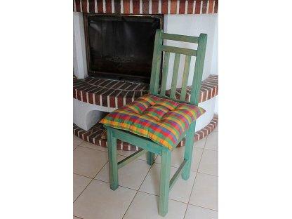 Podsedák na židli Colorado - kanafas, kostka