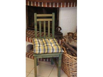 Podsedák na židli Dominik - kanafas, kostka