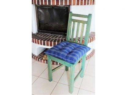 Podsedák na židli Hanka - kanafas, kostka
