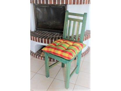 Podsedák na židli Ilona - kanafas, kostka