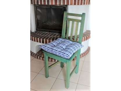 Podsedák na židli Majka - kanafas, kostka