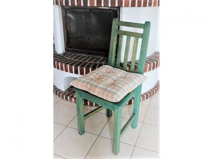 Podsedák na židli Milenla - kanafas, kostka