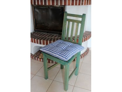 Podsedák na židli Pavel K1 - kanafas, kostka
