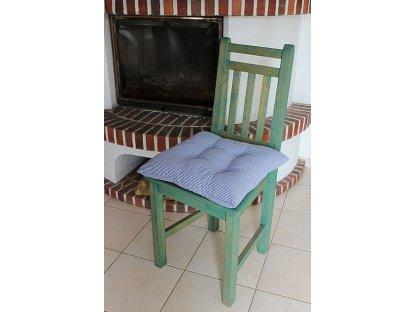 Podsedák na židli Pavel  - kanafas