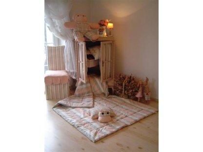 Přehoz na postel Milena 5 prodloužený, 140x220 cm, bavlna, kanafas