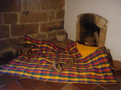 Přehoz na postel Tomáš 5+zlatá prodloužený, 140x220 cm, bavlna, kanafas