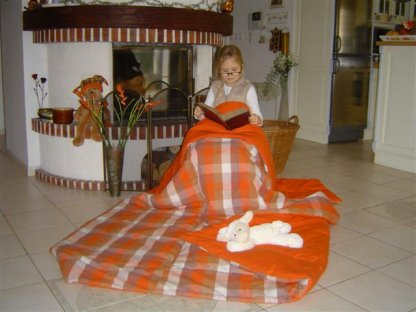 Přehoz na postel Vendelín 5, 140x200 cm, bavlna, kanafas
