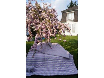 Přehoz na postel Viola, K 2/K 0,5  140x220 cm, bavlna, kanafas