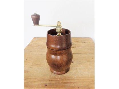 Ruční mlýnek na kávu Rondo 2012, dřevěný, 19,5x9 cm vč. kličky