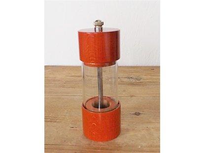Ruční mlýnek na koření ROMA, oranžovo hnědý