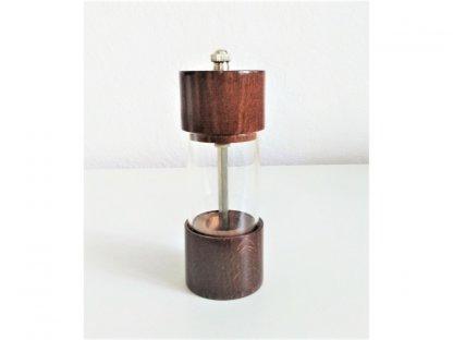 Ruční mlýnek na koření  ROMA, tmavé dřevo