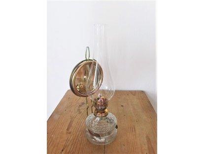 Skleněný cylindr k petrolejce v. 32 cm (8)