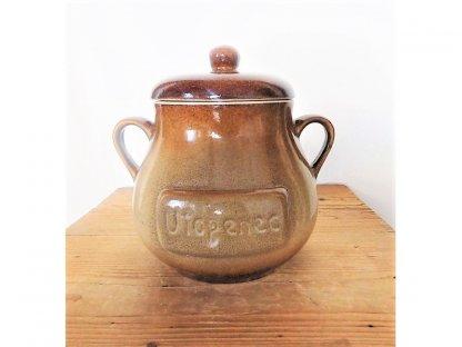 Uskladňovací nádoba MIX, na utopence objem 1,8 litrů, keramika