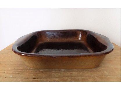 Zapékací mísa čtverec MIX, objem 0,85 litru, keramika