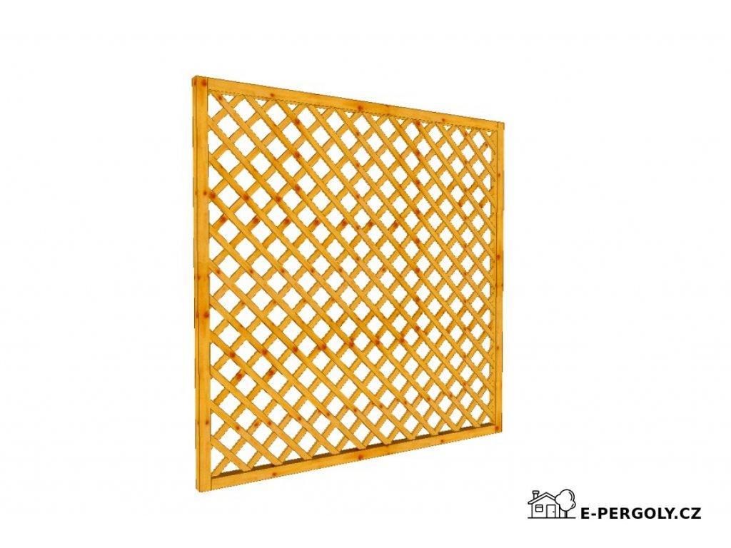 Mřížková zástěna Macík A8, 180 x 180 cm