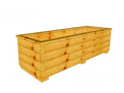 Dřevěný truhlík Áčko XL 40/120
