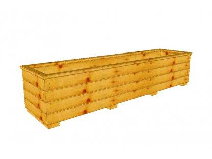 Dřevěný truhlík Áčko XL 40/160