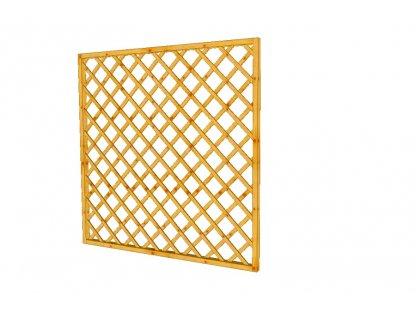 Mřížková zástěna Macík A12, 180 x 180 cm