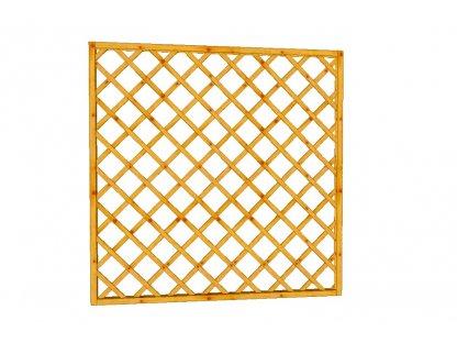 Mřížková zástěna Macík A14, 180 x 180 cm