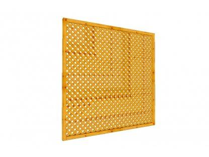 Mřížková zástěna Macík A3, 180 x 180 cm