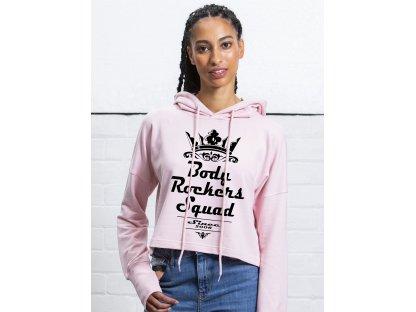 Podpořím částkou 1 250 Kč / Obléknu si crop top mikinu Body Rockers