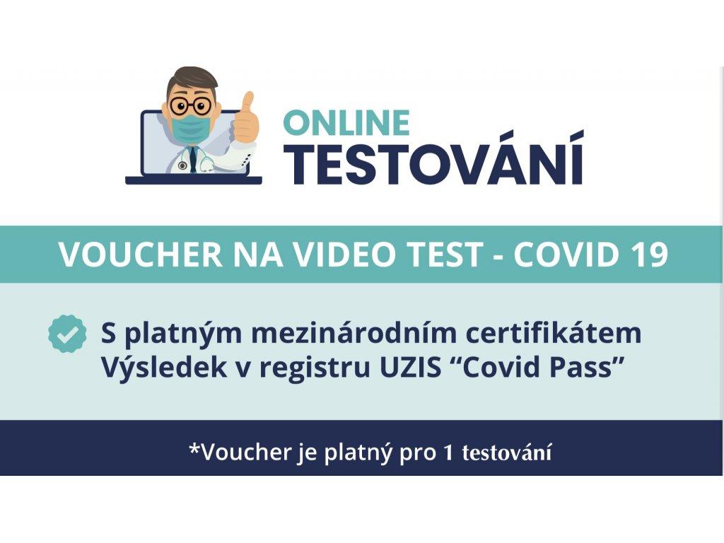 Voucher na video-asistované testování