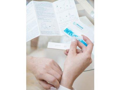 NEWGENE Rapid Test 25 ks - antigenní test ze slin na Covid-19