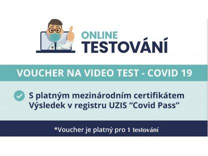 Antigenní test + Voucher na video test