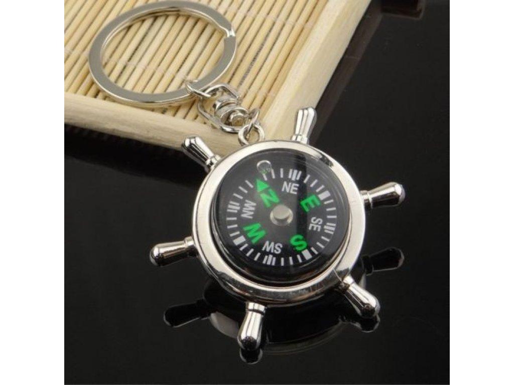 Přívěsek na klíče - kompas