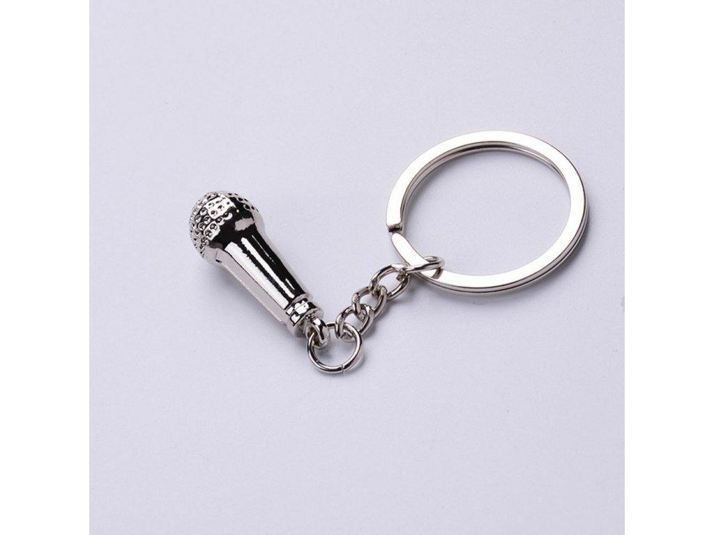 Přívěsek na klíče - Mikrofon