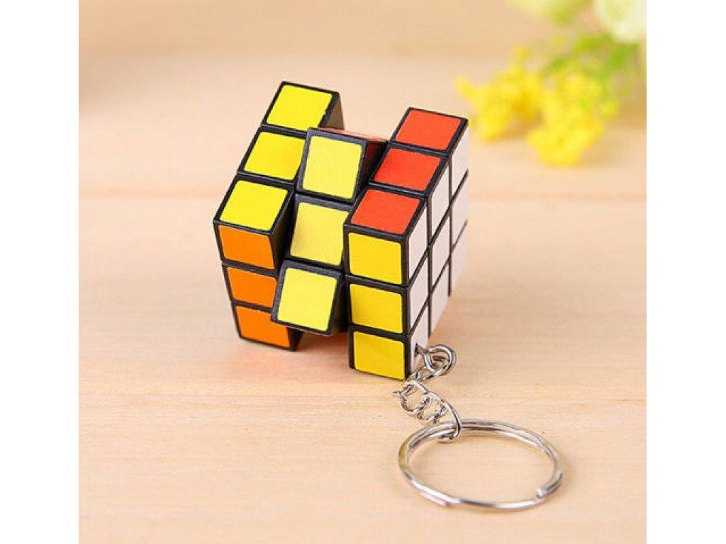 Přívěsek na klíče - Rubikova kostka