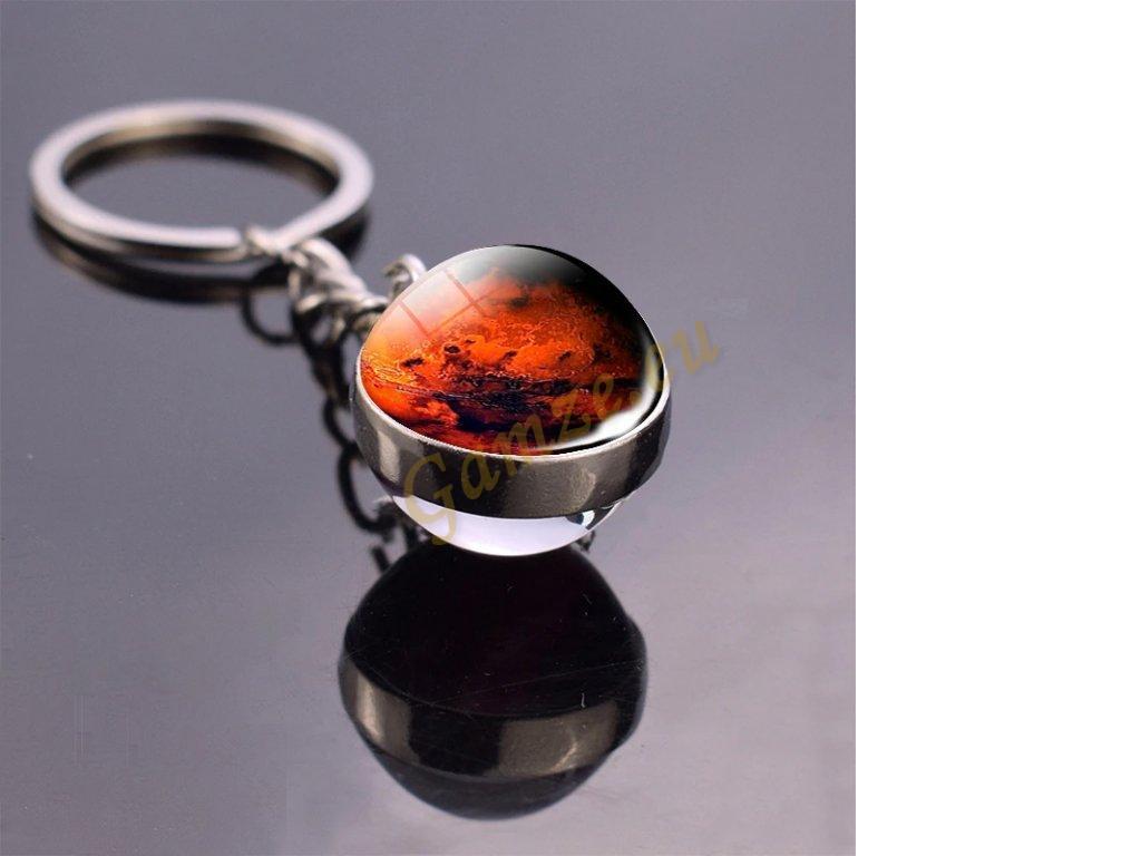 Přívěsek planeta - Mars