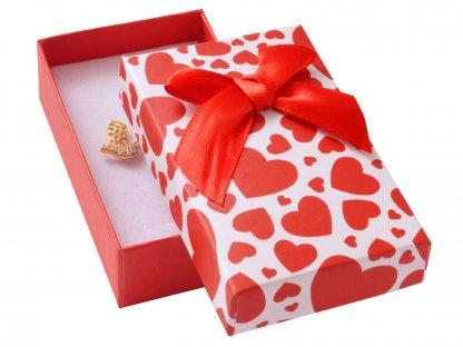 Dárková krabička na přívěsky - zamilovaná