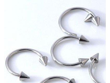 Piercing - stříbrné barvy 3