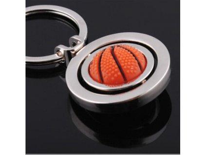 Přívěsek na klíče - basketbalový míč