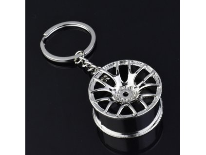 Přívěsek na klíče - disk kola 2