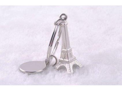 Přívěsek na klíče - Eiffelova věž