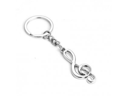 Přívěsek na klíče - houslový klíč