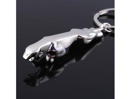 Přívěsek na klíče - jaguár