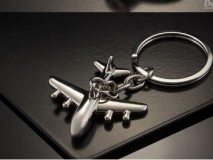Přívěsek na klíče - letadlo 2